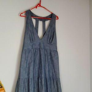 Gap maxi dress size large.